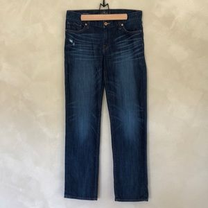 Lucky Brand Sienna Tomboy distressed jeans